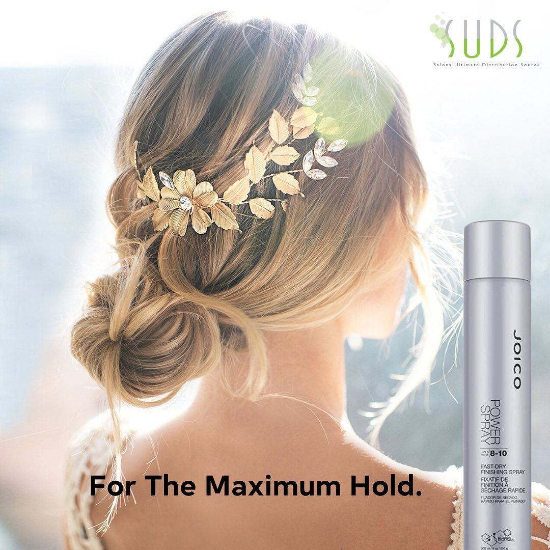 The Joico Power Spray is the ultimate hairspray to use for those long nights under the spotlight when everything needs t…