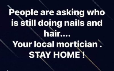 Saw this today: COPY and share if you are a Salon Owner….