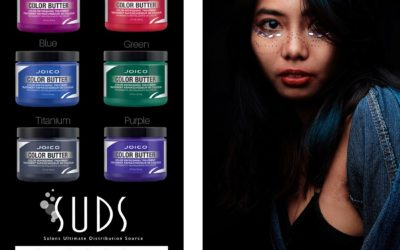 Who's ready for 6 shades of no commitment hair colour? Check out Joico's Color Butters!…
