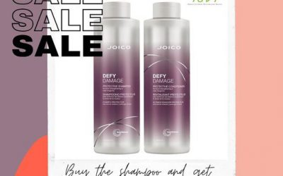 We're offering our 1litre defy damage shampoo and conditioner at a special deal. Use both together to get the best resul…