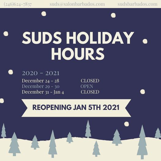 Gentle reminder to call now 624-SUDS…