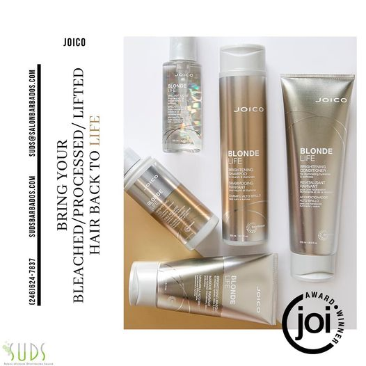 Joico's blonde life line is perfect for you who like some colour to your hair. Made for those bleached strands, it will …