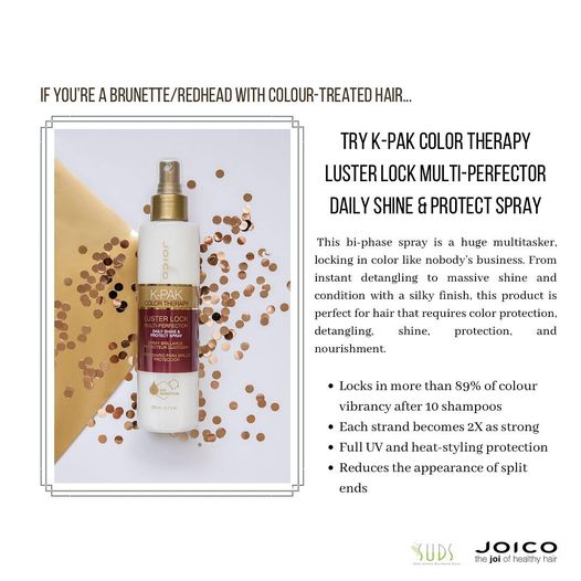 Another product for your hairtype! This time for colour treated brunettes and redheads! For more information on this pro…