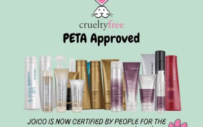 Big congratulations to Joico as their products have officially been certified by People for the Ethical Treatment of Ani…