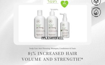 For fuller, stronger hair try teatree's anti-thinning products by Paul Mitchell. This colour safe, light weight formula …