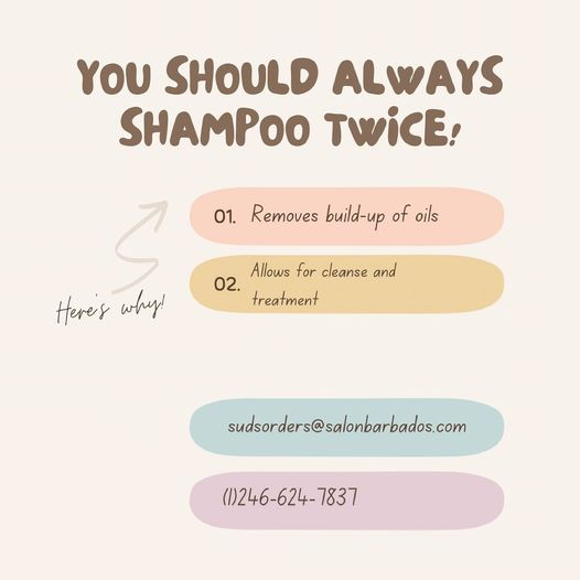 The first shampoo will break down the natural oils in the hair but will not completely cleanse the hair. The second way …