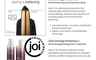 Get the best quality for your Salon with #defydamage pro series. This award winning bond builder will leave your clients…